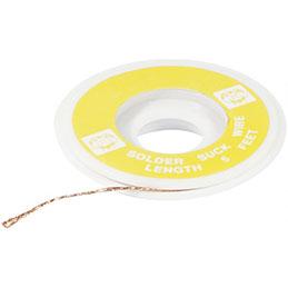 Tresse à dessouder largeur 2 mm