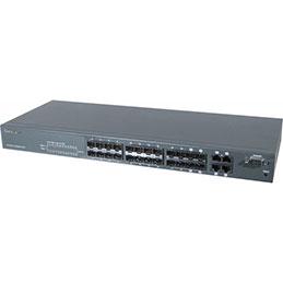 Dexlan switch NIV2+ 24P fibre SFP Bi-Vitesse & 4x RJ45 Giga. (photo)