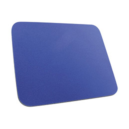 Tapis de souris Eco mousse 6 mm - Bleu (photo)