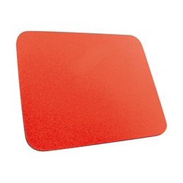 Tapis de souris Eco mousse 6 mm - Rouge (photo)