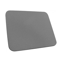 Tapis de souris Eco mousse 6 mm - Gris (photo)