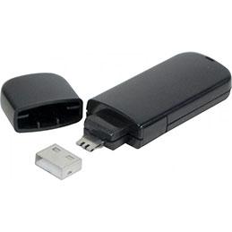 Cle de verrouillage pour port USB type A encodage bleu (photo)