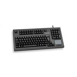 Cherry clavier 19'' touchpad usb noir (photo)
