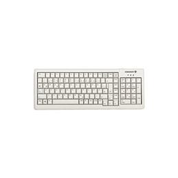 Cherry clavier slim avec pave numerique USB/PS2 euro gris (photo)