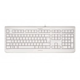 CHERRY Clavier étanche KC-1068 IP68 USB blanc QWERTY (US/¦) (photo)