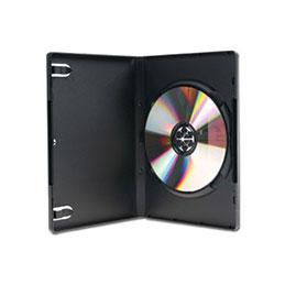 Boitier dvd std noir 1 dvd pack 5 (photo)