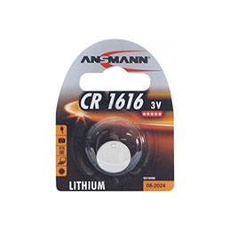 Bouton CR1616 3 v Ansmann - lithium (photo)