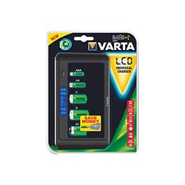 Chargeur de batterie varta universel lcd (sans accus) (photo)