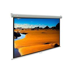 Ecran pour vidéoprojection - Mural - format 4:3 - 171 x 128 cm (photo)