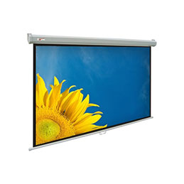 Ecran pour videoprojection mural manuel - format 4:3 - 305 x 229 cm (photo)