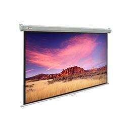 Ecran pour vidéoprojection - Mural électrique - format 4:3 - 203 x 152 cm (photo)