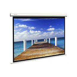 Ecran pour vidéoprojection mural électrique - format 4:3 - 243 x 182 cm (photo)