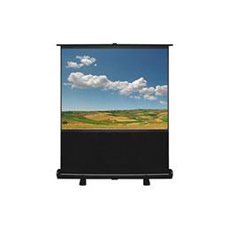Ecran pour vidéoprojection - Portable - format 4:3 - 163 x 122 cm (photo)