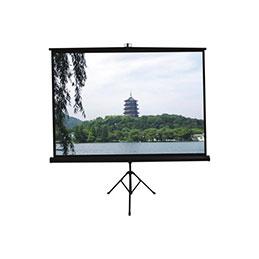 Ecran pour vidéoprojection - Trépied - format 4:3 - 164 x 123 cm (photo)