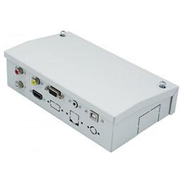 Boîtier déport métal multimédia HDMI/VGA/Jack/CINCH/USB (photo)