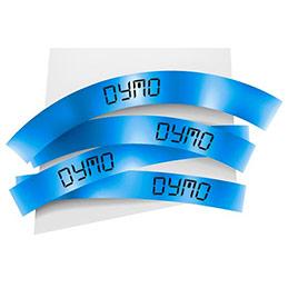 Ruban 9mm noir sur bleu pour lp150250 lm350450210d220p