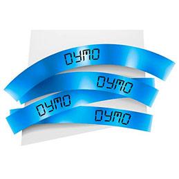 Ruban 12MM noir sur bleu pour LP150/250-LM350/450/210D/220P (photo)