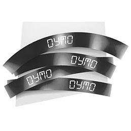 Ruban 12MM blanc sur noir pour LP150/250-LM350/450/200/250 (photo)