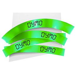 Ruban 19MM noir sur vert pour labelmanager 350/450/300/400 (photo)