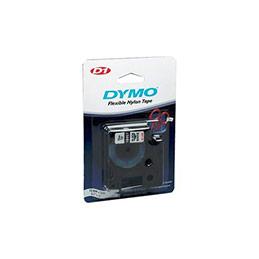 Ruban dymo D1 haute performance 12mm noir sur blanc (photo)