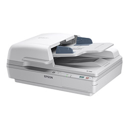 Epson WorkForce DS-6500 - Scanner de documents - Recto-verso - A4 - 1200 dpi x 1200 dpi - jusqu'à 25 ppm (mono) / jusqu'à 25 ppm (couleur) - Chargeur automatique de documents (100 feuilles) - jusqu'à 3000 pages par jour - USB 2.0 (photo)