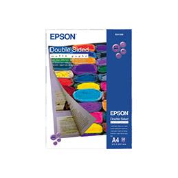 Epson Double-Sided Matte Paper - mat - A4 (210 x 297 mm) - 178 g/m² - 50 feuille(s) papier - pour EcoTank ET-2751 - 2756 - expression photo XP-970; SureColor SC-P7500 (photo)