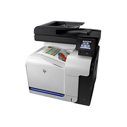 HP LaserJet Pro MFP M570dn - Imprimante multifonctions - couleur - laser - Legal (216 x 356 mm) (original) - A4/Legal (support) - jusqu'à 30 ppm (copie) - jusqu'à 30 ppm (impression) - 350 feuilles - 33.6 Kbits/s - USB 2.0, Gigabit LAN, hôte USB (photo)