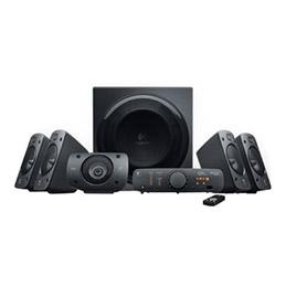 Logitech Z-906 - Système de haut-parleur - Pour home cinéma - Canal 5.1 - 500 Watt (Totale) (photo)