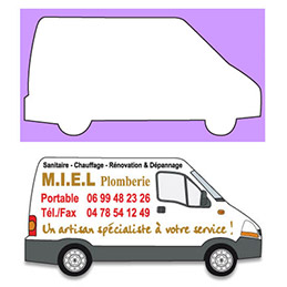 Magnet - camionnette - Services (photo)