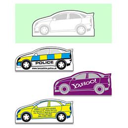 Magnet - voiture - services - forme spéciale (photo)