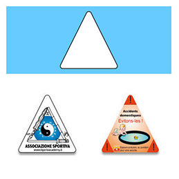 Magnet - triangle - Alimentation (photo)