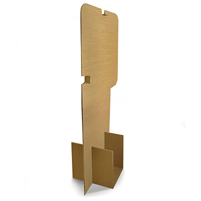 Barrière de protection en carton (photo)