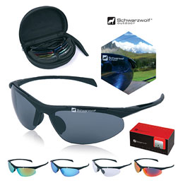 Kit de lunettes solaires SCHWARZWOLF FOR ALL (photo)