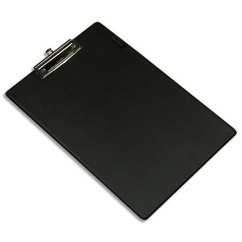 Plaque porte bloc pvc avec pince m tal 22 8 x 34 5 cm for Bloc porte pvc