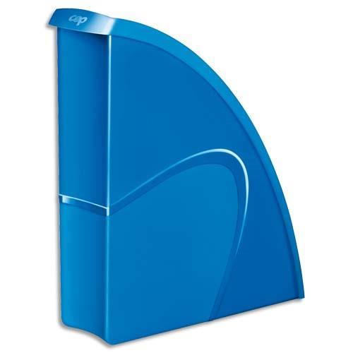 Porte revues cep gloss dos 8 cm bleu oc an for Porte revue vertical