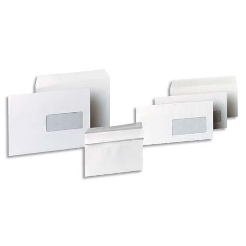 Enveloppes 114x162 5 etoiles blanches autocollantes 80g bo te de 500 achat pas cher for Format fenetre