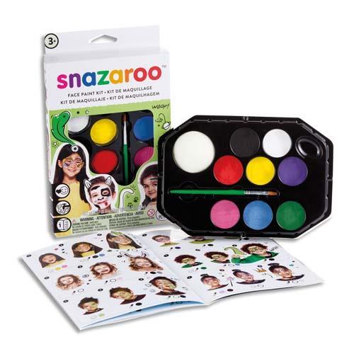 promotion Palette de maquillage arc en ciel Snazaroo