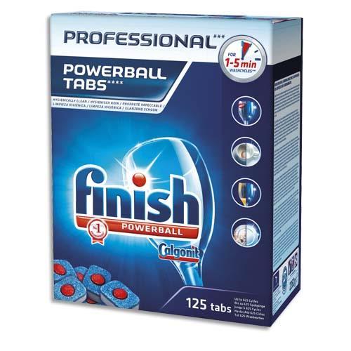 pastilles finish triple action pour lave vaisselle boite de 125 tablettes achat pas cher. Black Bedroom Furniture Sets. Home Design Ideas