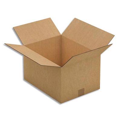 caisse carton brune double cannelure 41 x 24 x 31 cm lot de 15 achat pas cher. Black Bedroom Furniture Sets. Home Design Ideas