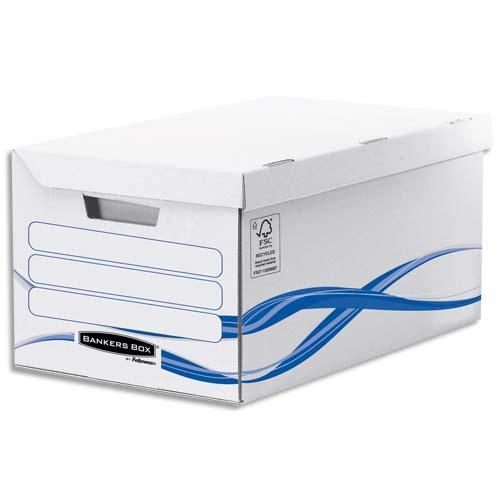 Conteneur flip top maxi bankers box basic achat pas cher for Conteneur moins cher