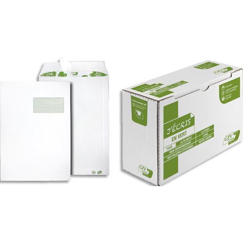 Pochettes 100 recycl es 229x324 gpv erapure blanches for Fenetre 50x100
