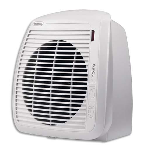 radiateur soufflant delonghi 2000w thermostat ajustable l23 8 x h25 4 x p17 7 cm blanc. Black Bedroom Furniture Sets. Home Design Ideas