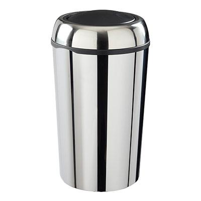 Poubelle swingy ronde couvercle basculant inox 50 - Poubelle cuisine 50 litres pas cher ...