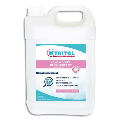Gel Lavant Desinfectant Pour Les Mains Wyritol Conforme Norme