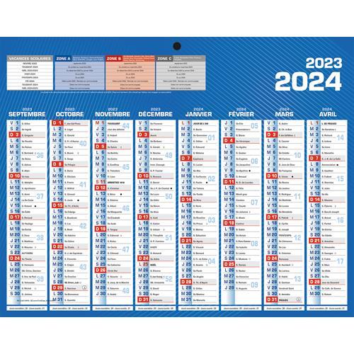 Calendrier De Septembre 2020.Calendrier 2020 Mural Septembre A Decembre Format Mini 8 Mois Par Face Details