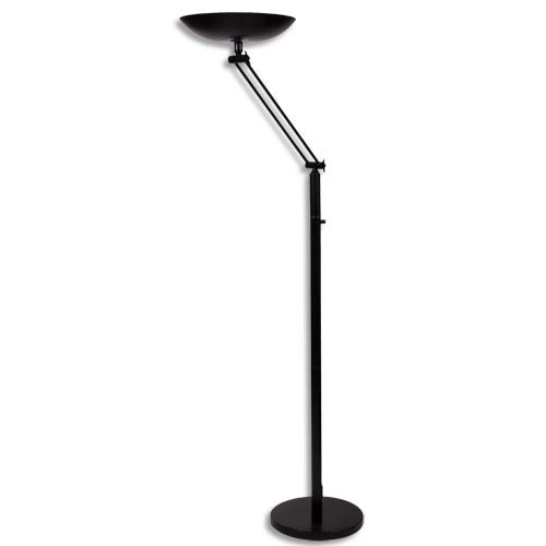 Unilux lampadaire Led Pryska 40 W Blanc, hêtre | Staples®