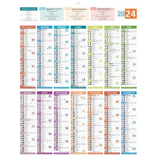 Calendrier 2020 Avec Photos.Calendrier 2020 Vertical 43x55 Cm 14 Mois Avec Carte De France Admninistrative Au Dos Details