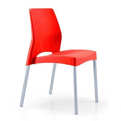 chaise coque polypro lot de 2 pim 39 s. Black Bedroom Furniture Sets. Home Design Ideas