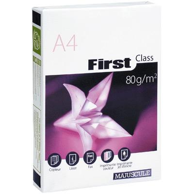 papier extra blanc m first class 80g ramette de 500 feuilles a4 achat pas cher. Black Bedroom Furniture Sets. Home Design Ideas