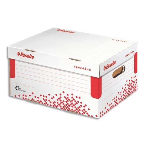 Conteneur esselte speed box taille m achat pas cher for Conteneur moins cher